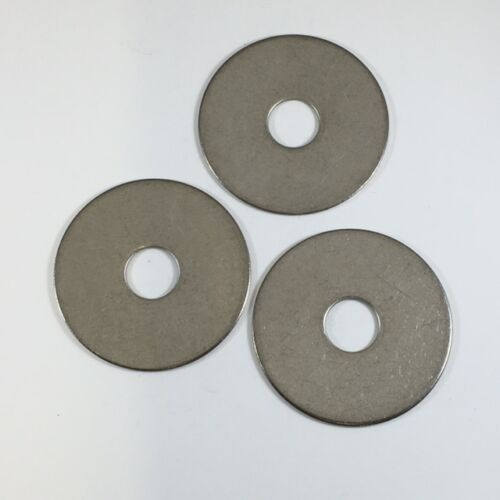 """Qty 18-8 Stainless Fender Washers 100 3//8/"""" x 1-1//2/"""" O.D"""