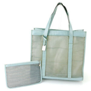 Gucci-Tote-bag-Blue-Silver-Woman-Authentic-Used-T4462