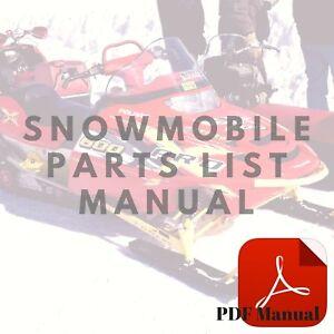 Yamaha-1969-SL338-SL396-Parts-List-Snowmobile-Manual