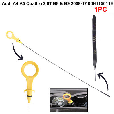 1x Replacement Engine Oil Dipstick for Audi A4 A5 Quattro 2.0T B8 /& B9 09-17 US