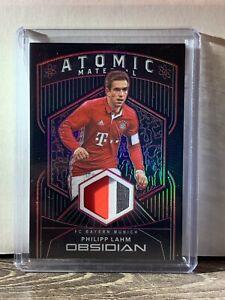 2020-21 Panini Obsidian Philipp Lahm 3 CLR Patch #1/5 SSP FC Bayern Munich AT-PL