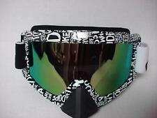 Motorcycle Motocross ATV UTV Off-road Ski Snowboard Race Goggles Reflective Lens