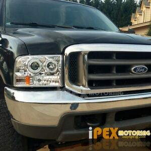 New 1999 2004 Ford F250 F350 Super Duty Halo Led