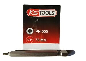 Kreutzkopfbit-ph000-KS-TOOLS-Pour-1-0-et-1-2-mm-emergents-Voie-Vis