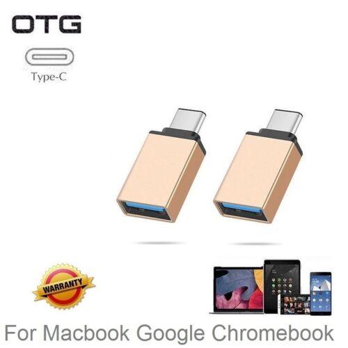 3 OTG Adapter Type-C to USB 3.0 Adapter for MacBook-Pro Google Pixel Nexus 1,2