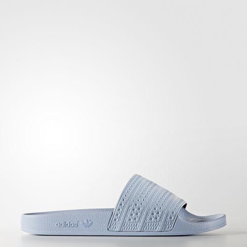 Adidas hombres Originals adilette diapositivas sandalias azul pastel de los hombres Adidas hechos en Italia ba7539 1aa550