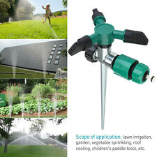 360 Degree Water Sprinkler Rotation Lawn and Garden Sprinklers System Watering