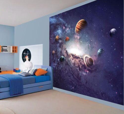 Stunning universe solar system stars space wallpaper wall mural 50430104