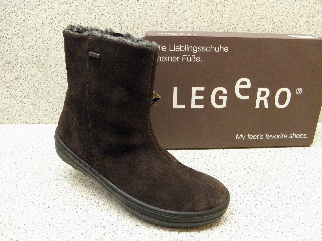 Legero ® rotuziert, bisher  ,  Stiefel Leder Gore-Tex ® braun (L6)