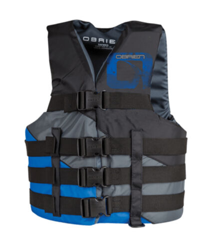 2018 O'Brien 4 Belt Adjustable Buoyancy Aid, SM or LXL or SL. 64035