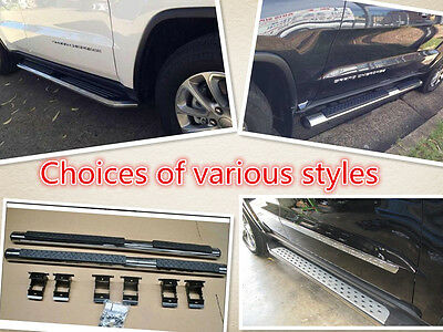 Choice of 5 Styles Side Step For Jeep Grand Cherokee 2011 2012 2013 2015
