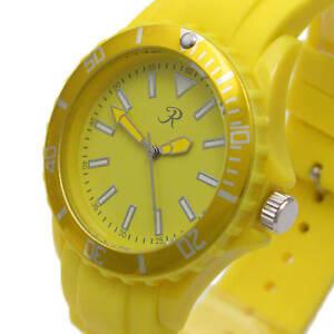 SALE-Reflex-Rubber-Strap-Fashion-Watch-Yellow