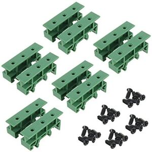 5-Sets-PCB-DIN-Rail-Mounting-Adapter-Circuit-Board-Bracket-Holder-Carrier-Clips