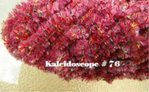 size 2 4 yards for the price of 3 NEW AGE CHENILLE Kaleidoscope