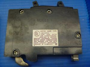 SQUARE D QOT1515 1 POLE 15//15 AMP Twin CIRCUIT BREAKER with HOOK QO1515