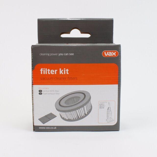Authentique Vax Kit de Filtre pour s/'adapter Model VEC-103 part number 1-9-130099-00
