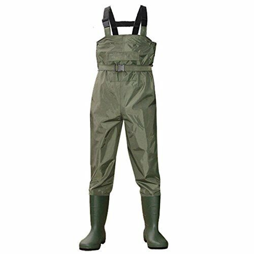 pesca Waterproof Chest Wader Unisex avvio Foot Hunting Wader Rubber Pants