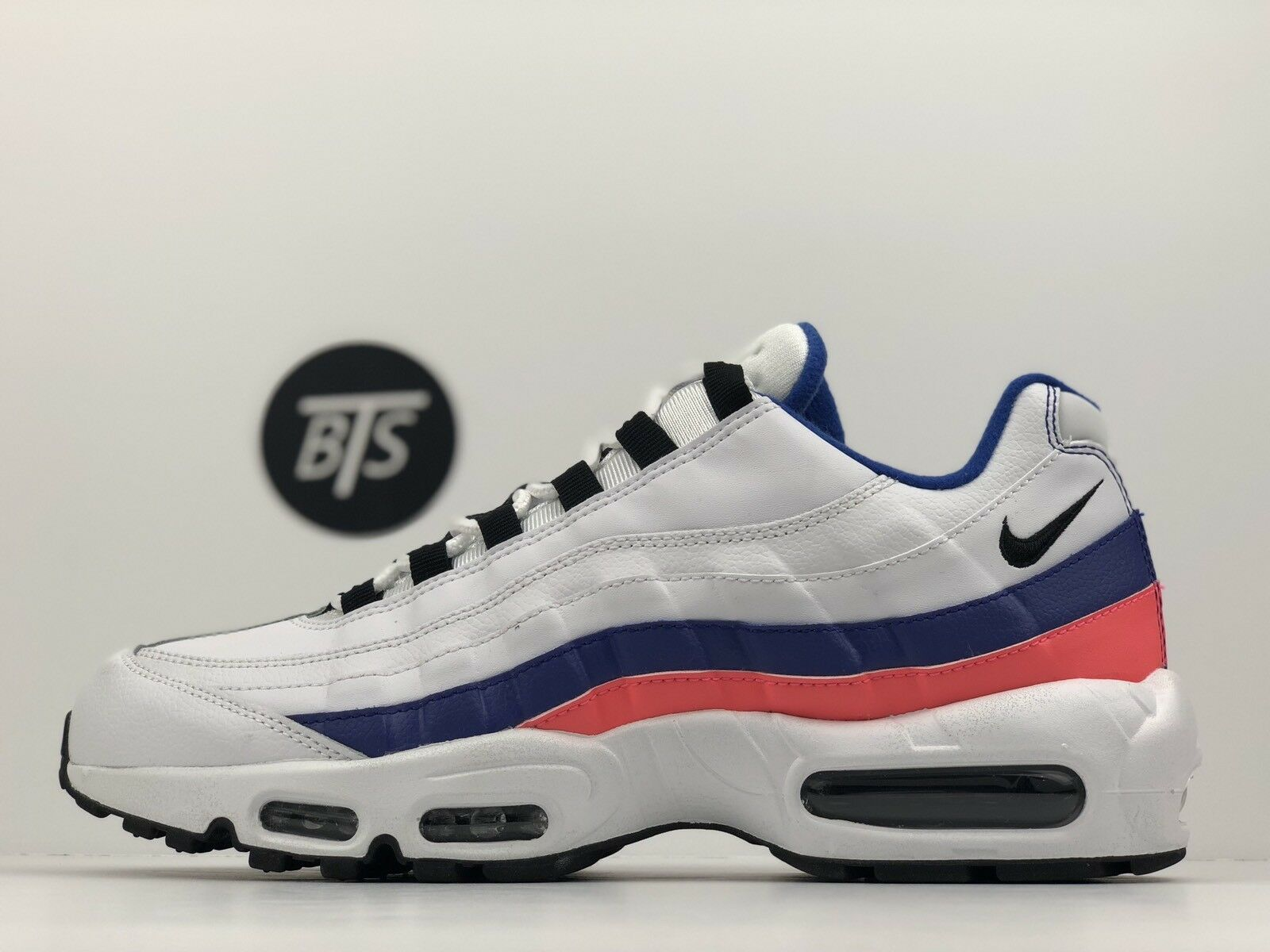 "90404c04429f1f Men s Nike Air Max 95 ""Essential"" Size-10 White Blue Solar Solar Solar"