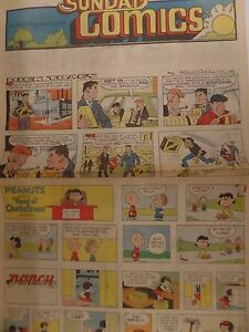 Sunday-Comics-August-17-1980-Dick-Tracy-Peanuts-Archie-062916DBE