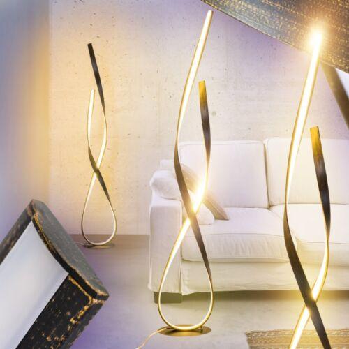 LED Stehlampe Stand Boden Leuchten Schlaf Wohn Zimmer Büro Beleuchtung Rostfarbe