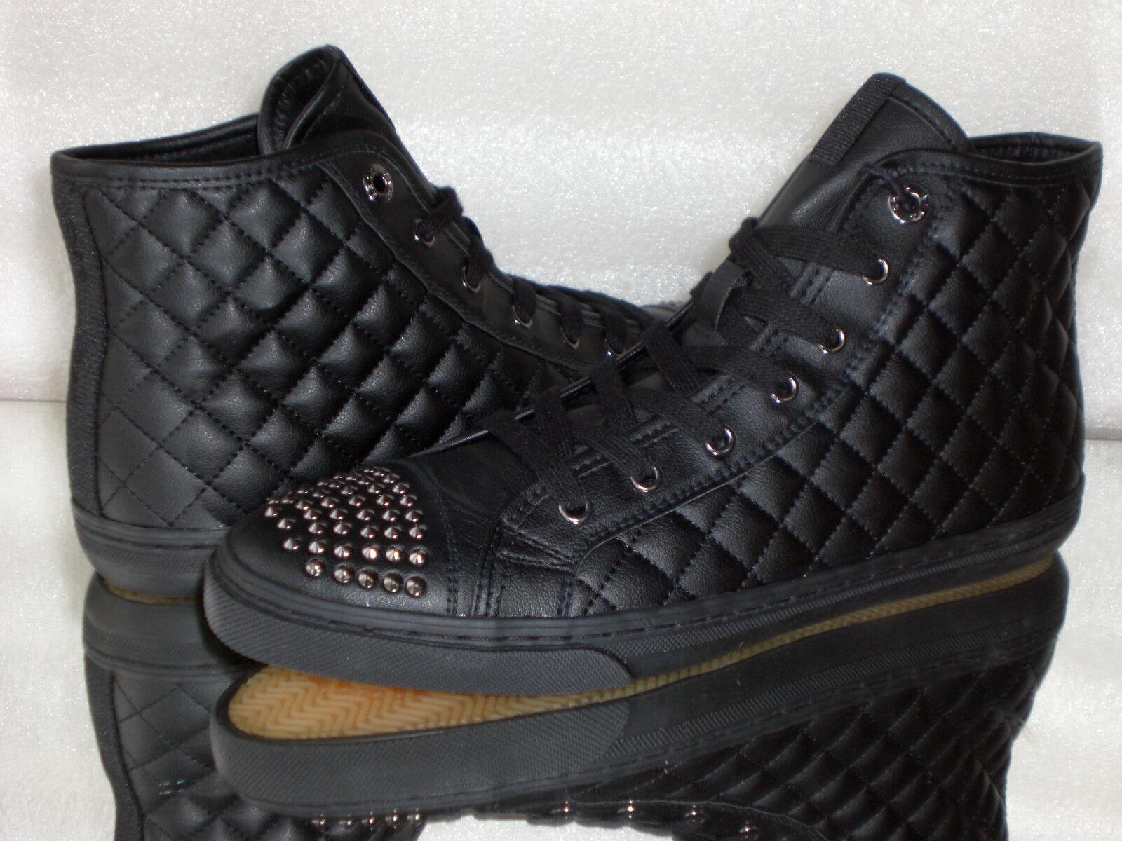 Señora higt-Top zapatillas GEOX respira Synt. leat Black c9999 talla: 35-41 nuevo