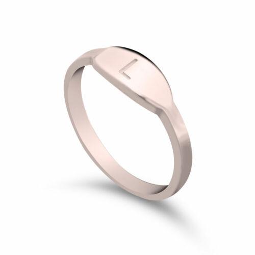 Anillos de apilamiento-Anillo inicial para la mujer-Personalizado Regalo-Custom Jewelry
