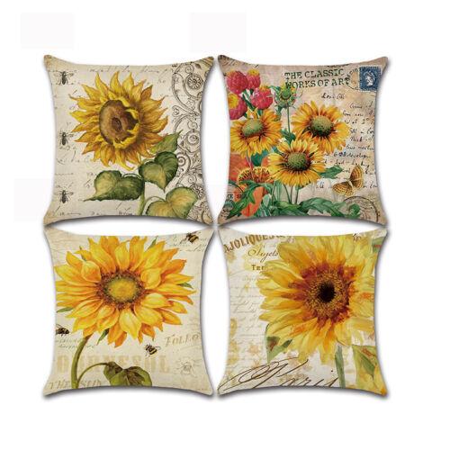 Van Gogh Oil Painting Throw Pillow Case Car Home Office Sofa Cushion Cover Decor