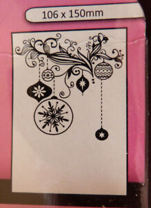 Crafts-Too-CTFD3073-C6-Embossing-Folder-Bauble-Decorations-Background