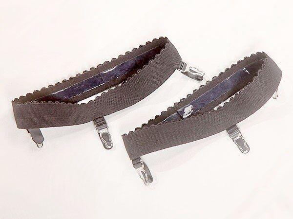7,99€/Stk  2 Stück Strumpfhalter Gr. L  ca 2,8cm Breit Straps Strumpfband
