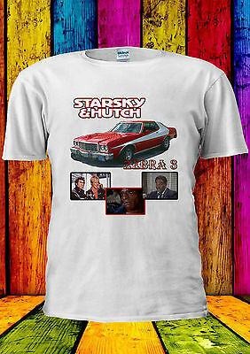 Starsky /& Hutch Ford Gran Torino T-shirt Vest Tank Top Men Women Unisex 2156