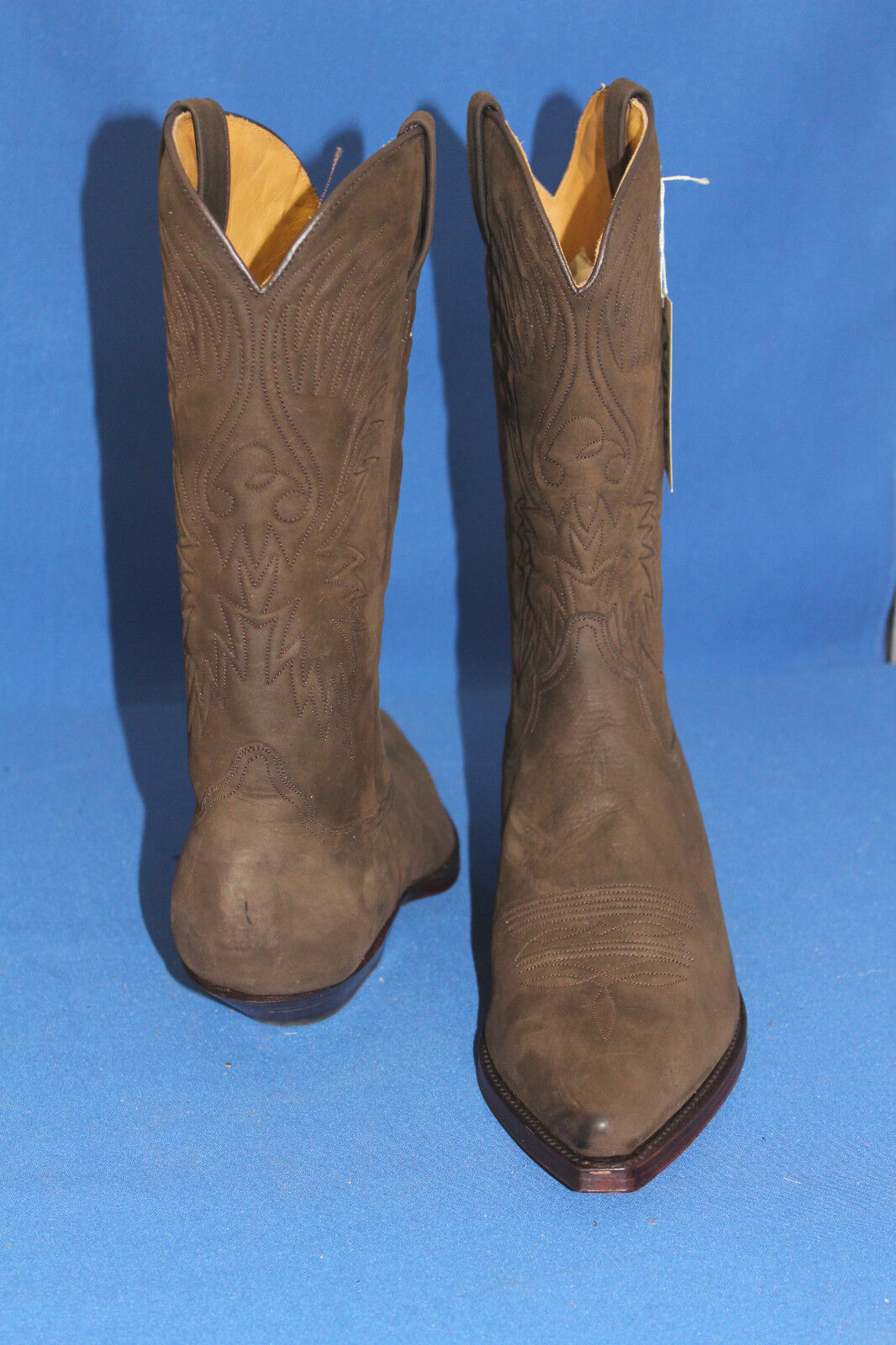 Buffalo Vidal Stivali Cowboy Stivali Stivali Stivali Stivali Stivali Western in Pelle Nuovo Gr. 35 Marroneee 5a941f