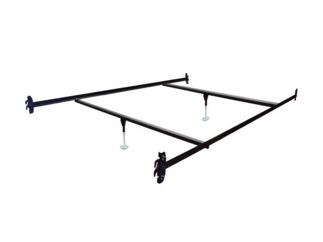 Full Size Hook on Bed Frame Rails with 2 Cross Beams and 2 Legs