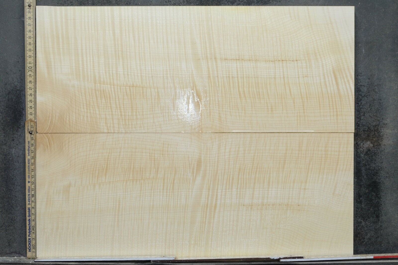 Tonewood Riegel Ahorn Flamed Maple 11 mm Aufleimer Guitar Tonholz Droptop 378