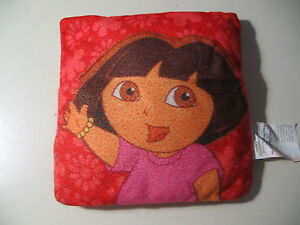 "9"" x 9"" plush Dora the Explorer pillow, good condition"