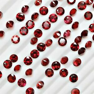 Wholesale-Lot-5mm-Round-Cut-Natural-Mozambique-Garnet-Loose-Calibrated-Gemstone