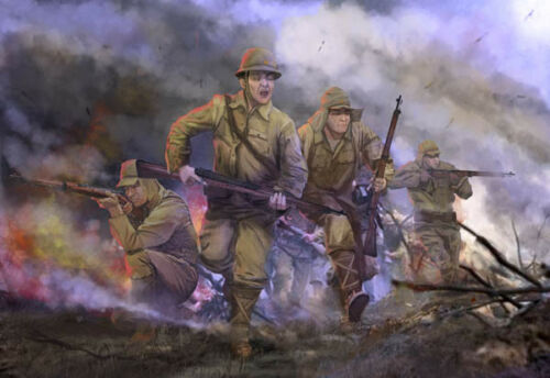 M128 Strelets WWII - 1:72 Imperial Japanese Army in Attack