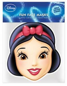 Snow White Face Masks x 6 Disney Princess Party