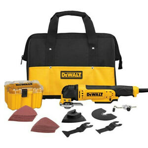 DEWALT 3 A Oscillating Tool Kit w/ 29 Accessories DWE315K Recon
