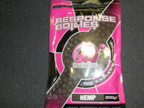 Mainline Response 10 mm Boilies Handy Pack 200 g Toutes Saveurs
