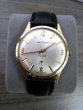 Vintage Waltham Incabloc 17 Jewels Manual Hand Wind Swiss Made Men's Watch