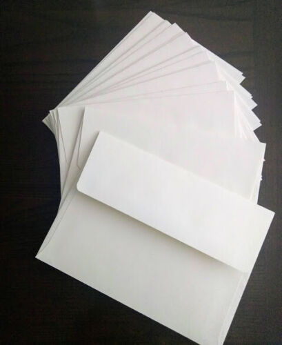 A6 A7 Invitation and Rsvp Card Wedding Set Envelopes 25 Bright White Size A2
