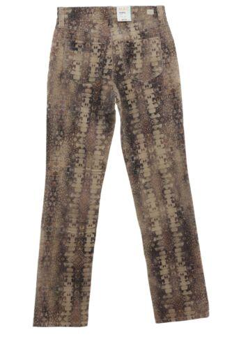 MAC Hose Angela Jacob 0457 5234 Cordhose Cord Pants Damen Stretch Super Slim