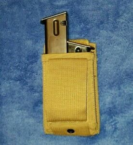 NEW-Coyote-Double-Pistol-Mag-Pouch-9mm-45-Specialty-Defense-USMC-MOLLE