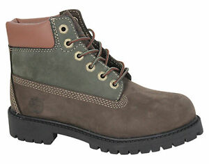 Timberland A118z pizzo 6 pollici D2 Youths bambini in Stivali pelle Earthkeepers Classic vnrqvz