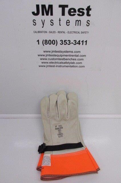 Kunz Glove Company 1050-3-10h Leather Protectors BR  e0b1e6638d2