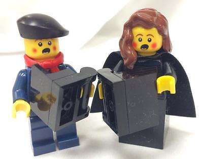 Pair of Lego Custom Winter Christmas Carolers Set NEW 14pcs