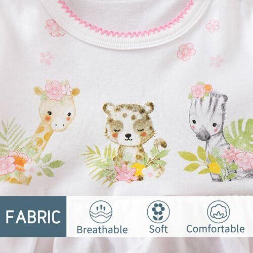Baby Romper Girls Animal Print