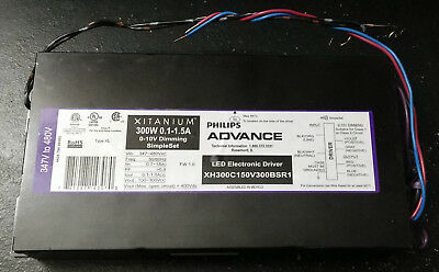 Philips Advance LED Electronic Driver 0-10v DIMMING 347V TO 480V Free Shipping!!
