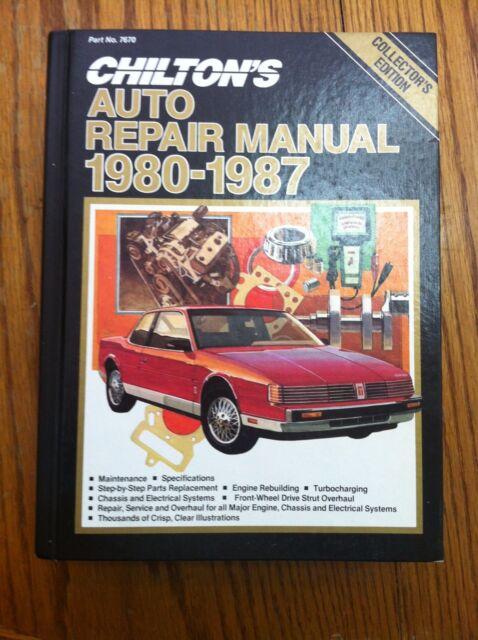 car repair manuals chilton