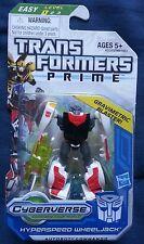 Transformers PRIME CYBERVERSE LEGION HYPERSPEED WHEELJACK MOSC SEALED 2011